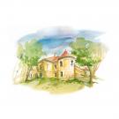 Carte poștală Csillag István - Castelul Rákoczy-Bánffy din Gilău