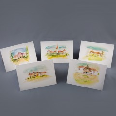 Castles in Transilvania - Postcard Set