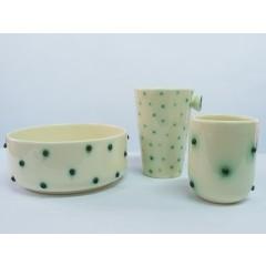 CONDENS mugs and bowl