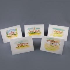Castles in Transilvania - Postcard Set
